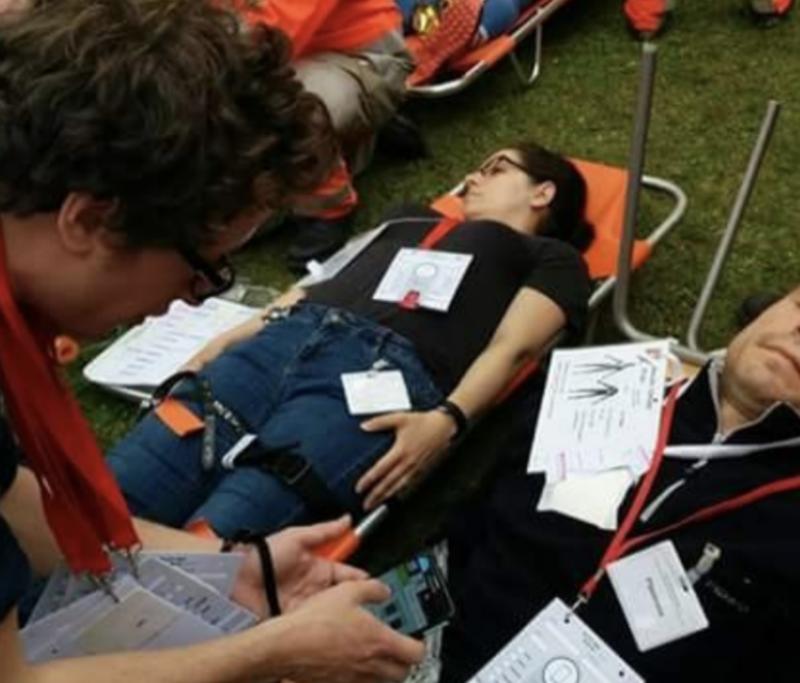 Évaluation grandeur réelle d'un dispositif phygital de triage de victimes en situation de catastrophe